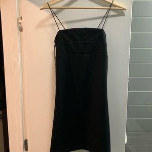 NWT Forever 21 Black Strappy Mini Dress